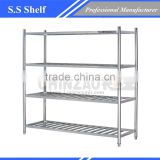 Stainless Steel Shelf/Stainless Steel Kitchen Wall Shelf/stainless steel kitchen corner shelf X1601