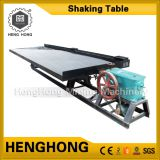 Alluvial gold mining equipment refining machine gold shaking table for sale