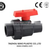 upvc cpvc single union ball valve