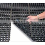 interlocking kitchen rubber floor