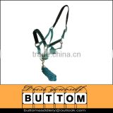 Horse halter and lead rope,horse halter and lead rope supplier,PP horse halter and cotton lead rope