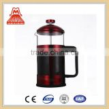 Quality products W124-CP033 Hot Selling Red Color Cooper Coffee Maker