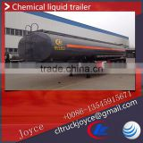 3 Axles Hydrochloric Acid Or Sulfuric Acid Transporting Trailer