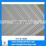 China cheap solid pc sheet highway noise barrier panel with uv protection