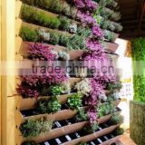 GreenSun vertical garden green wall module artificial hanging wall planter,pocket wall planter,flower pot,plant pot
