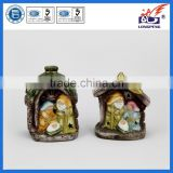 Hot Sale Holy Family Religious Statues with LED Light JOSEPH MARY AND BABY JESUS