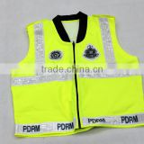 yellow high visibility reflective security vest security guard vest security vests for sale