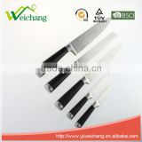 WCE7100 5 pcs set Kitchen Knives STAINLESS STEEL , hot sale