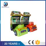 DianFu factory price Happy go kart Kids simulator arcade racing car game machine for sale