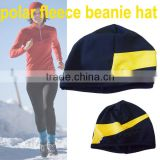 Custom running hat sports polar fleece beanie Dry fit Running cap