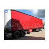 Red truck cover container tarpaulin side curtain waterproof 1000D1000D 30x30