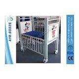 Iron Platform Newborn Baby Pediatric Hospital Bed With Steel High Rails