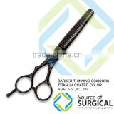 barber thinning scissors barber cutting scissors