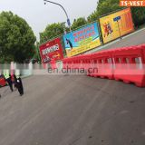 Road Traffic Sign Construction Horse Water Trough Plastic Barricade Stand