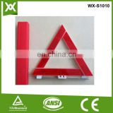 E Mark triangle led flashing warning light,warning triangle labels