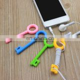New Style Multifunction Cable Winder Plastic earphone holder