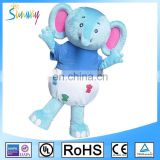 Lovely Fursuit Adults Elephants Mascot Party Cartoon Costume For Party