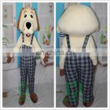 HI EN71 wonderful animal dog mascot costume for adult size,cutomized mascot costume for show party