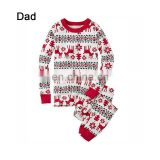 Christmas Winter Baby Father Mother Elk Pattern Sleepwear Family Matching Costume Pajamas