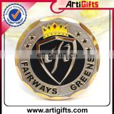 Customized design souvenir stamped metal coin