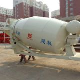 New concrete mixing truck