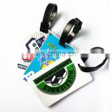 Customized PVC luggage tag for travelling