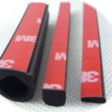 D-shaped EPDM Sponge Rubber Seal with 3M Tape 4229P for Cars, Trucks China Manufacturer Supplier