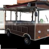 Commercial Stainless Steel Mobile Hot Food Serving Van