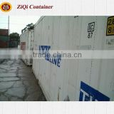 China supplier	20'/40'HC HQ	2nd hand	reefer container	best quality retail price	for sale in Liaoning