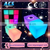 ACS 2015 Wholesale Party Decoration Led Circle Ring Light Shining cube