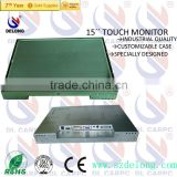 2014 New Offer 15'' General Touch Open Frame Touch Screen Monitor For CNC Machine