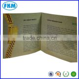 Factory high quality A4 A5 booklet/catalogue printing