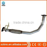 China supplier OEM&customized aluminum casting parts car exhaust pipe from Guanzhou foundry