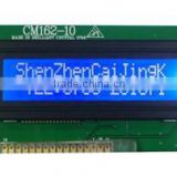 sunlight readable 16x2 lcd module support 3SPI or I2C serial interface with low power consumption