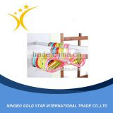 Wide Usely Hot sale Plastic Flocked Hangers For cloth shop