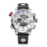 MIDDLELAND Factory Genuine Leather Watch Luxury 5 Atm Water Resistant Stainless Steel Watch