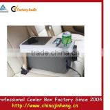 promotional Weknown DC 12V24V 8L portable mini car fridge/freezer,electric car coolers,DC compressor refrigerator