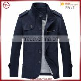 New button up formal men stand collar slim fit jackets