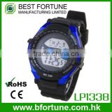 LP1338_BL Blue color Chrono Alarm Date/Day Tech digital Multifunction sports watch for men