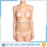 Fashion tan through swimwear fabric (microsolv) high quality bra and panty sets hot sexy bra panty photos made in China