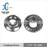 Stainless Steel DIN6923 Hex Flange Nut