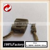 Army Green, plastic labels, LOGO-free,Manufacture China Plastic String Hang Tag for Clothing