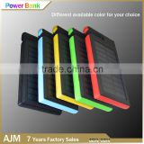 waterproof solar power bank fast charging power bank 8000mah solar mobile phone chargers
