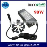 100% Compatible automatic Laptop Charger 90w as laptop Parts Charger
