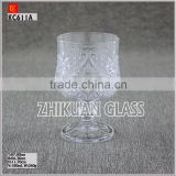 New Products In Market Glass cup/ hot sales design Hand press Stock Big Sale Drinking Glass Cup Wine Glasses