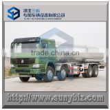 8x8 HOWO 371 hp all wheel drive fuel tanker truck 7400 gallon right hand driving oil delivery tank truck                                                                         Quality Choice