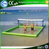 Hot sale water toys inflatable beach volleyball court for water park