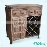 Liquor bar cabinets for home , wine cabinet wood shelves