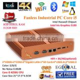 Intel Core i5 4258u Fan-less Mini PC 8G RAM 512G SSD Windows8 Iris HD5100 HD MI 3D Gaming laptop Wireless Mouse/Keyboard