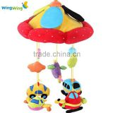 2016 NEW OEM Baby bed hanging toy,baby musical hanging toys, baby car musical mobile
